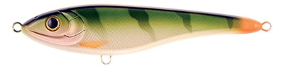 Leurre Jerkbait CWC Big Bandit C76 Natural Perch