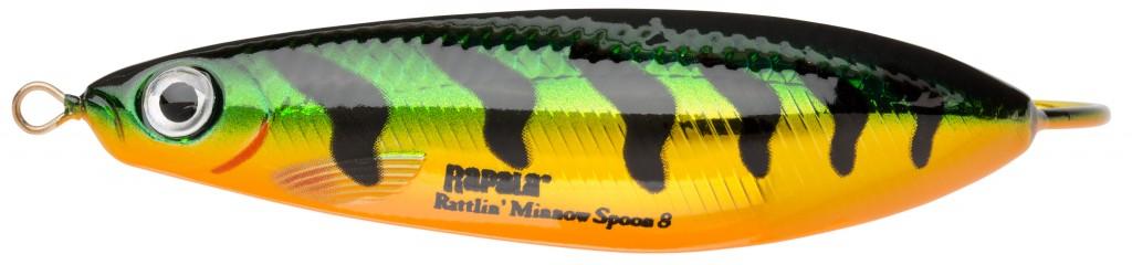 Rattlin Minnow Spoon Rapala PFLP